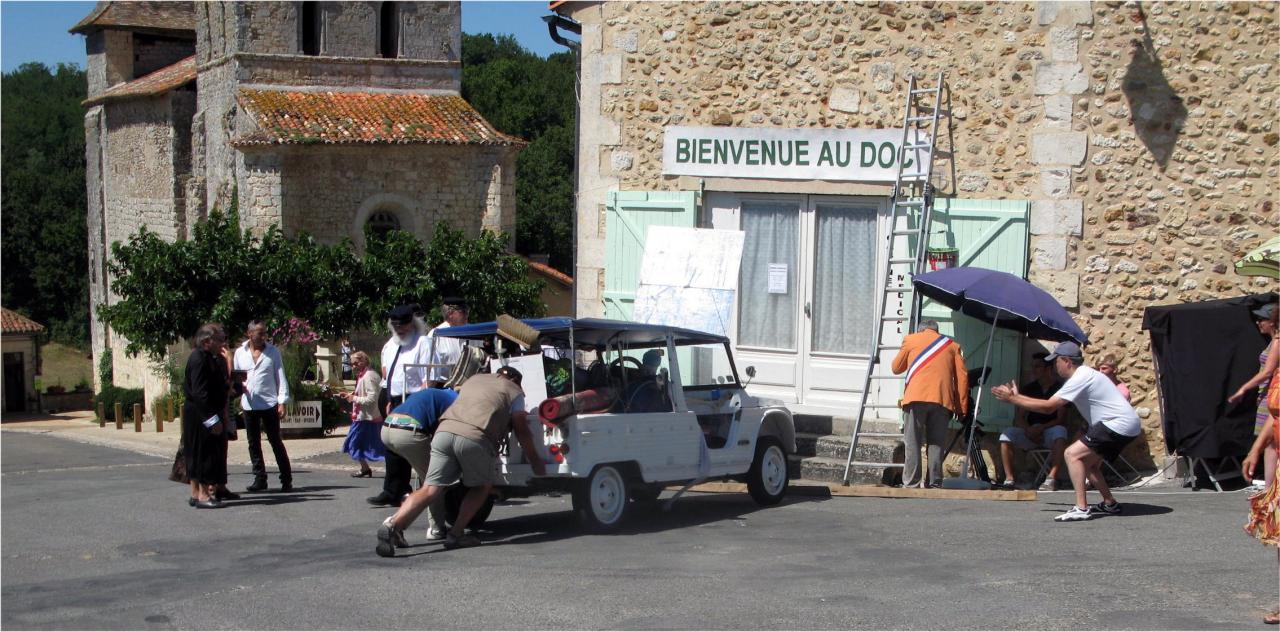 LE DOC - Arrivée - Tournage 20 août 2013