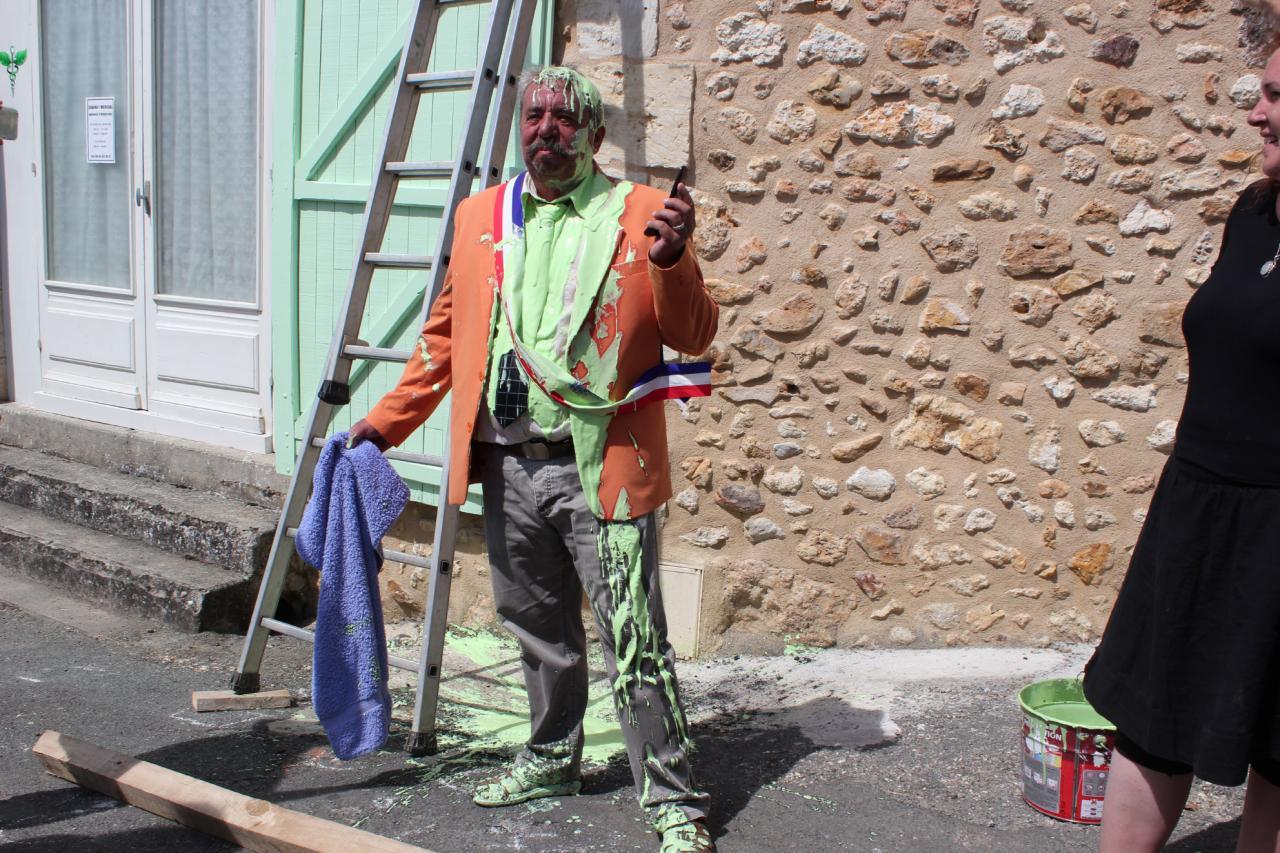 """LE DOC - Arrivée - Tournage du 22 août 2013 et repas """"Le Lavoir"""""""