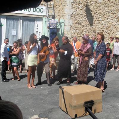 LE DOC - Arrivée - Tournage du 21 août 2013